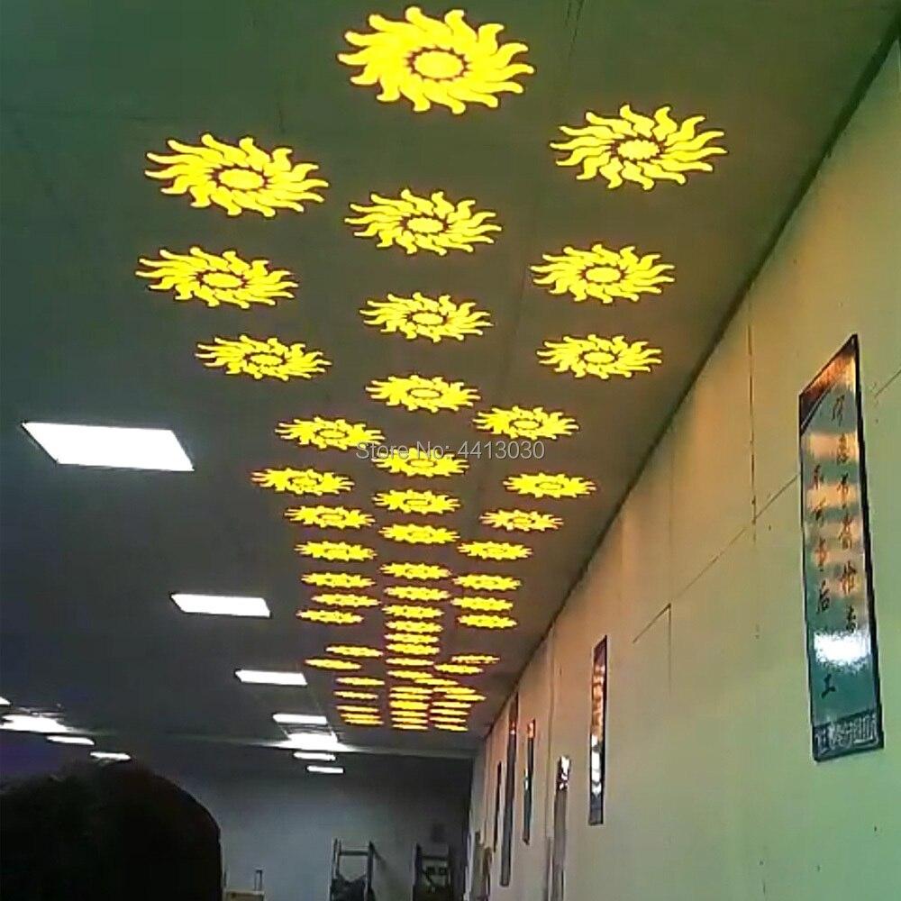 Mini lumière principale mobile de la tache 60W LED avec la plaque de Gobos et la plaque de couleur, Mini lumière principale mobile de l'intense luminosité 60W LED DMX512 - 6