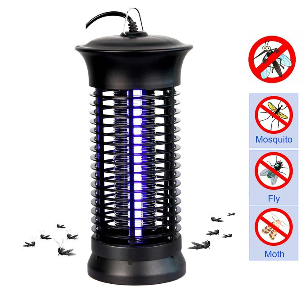 LED Photocatalyst Electric Anti Mosquito Repeller Lamp Insect Trap Killer Light