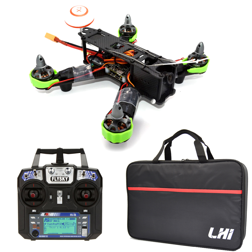 New Fashion drone with camera Frame for Fs I6 and 2204 motor RC plane mini QAV 210mm Carbon Fiber dron RTF Quadcopter