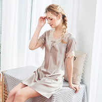 AEOZRING Sexy nightgowns lingerie for women pure Lace Dress Fashion Pajamas for Women babydoll