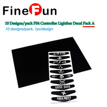 10 pcs / lot PS4 Controller LED light Bar Cover Decal Sticker for Sony Play Station 4 Joystick DualShock Gamepad Free Shipping