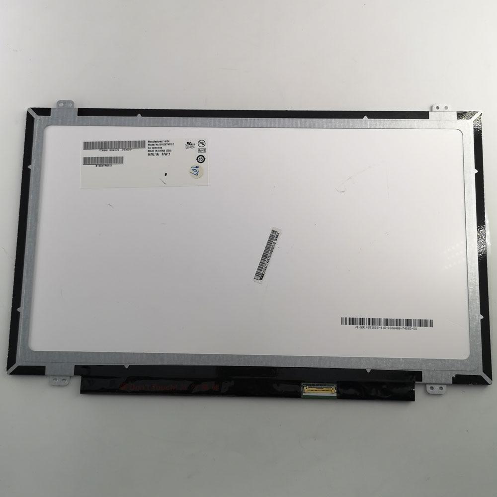 14 POUCES LTN140AT31 N140BGE-E43 N140BGE-E33 HB140WX1-301 HB140WX1-601 B140XTN03.2 1366*768 EDP 30 broches LCD Matrice D'affichage D'écran