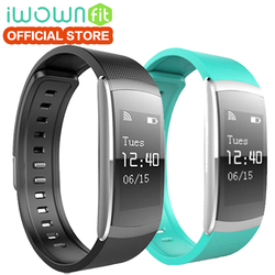 IWOWNFIT I6 PRO Smart Wristband Heart Rate Monitor IP67 Waterproof Smart Bracelet Fitness Tracker support Andriod IOS