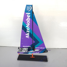 Diecast Toy Model Gift 1:50 Scale MOTORART Akzo Nobel VOLVO V065 OCEAN RACE Sailing Vehicles Alloy Model Decoration,Collection