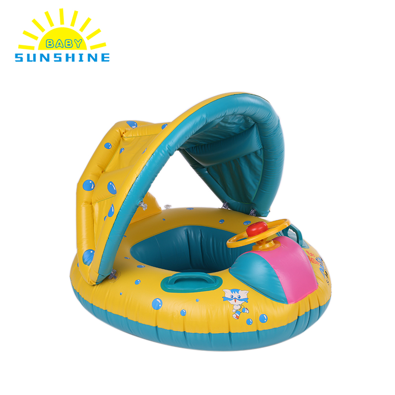 PVC Inflatable Ring Safety Baby Infant Float Swimming Pool