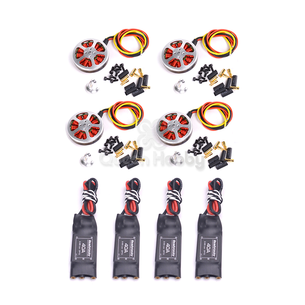 5010 360KV / 750KV High Torque Brushless Motors 40A ESC 1245 Propeller For ZD55 ZD680 ZD850 H4 680 Tarot 650 Multi-rotor
