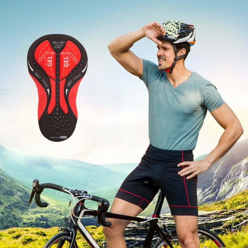 5D Padded Mens Cycling Underwear MTB Breathable Shorts Riding Bike Sport Underwear Compression Tights Shorts