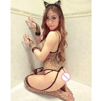 e274bb5978cb Talla grande M-XXL Sexy Cosplay Deguisement Catwoman disfraces de Halloween  ropa de Navidad de ...