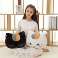 Anime Natsume Kittens Teacher Plush Toy Stuffed Pillow Cushion Cartoon Cat Doll Creative Animation Around Cat Toys For Kid Gifts