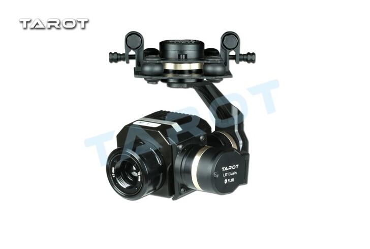 Tarot do Metal Cardan TL03FLIR Eficiente CNC Eixo Cardan para Flir FLIR Thermal Imaging Camera 3 VUE 320 PRO 640PRO F19797
