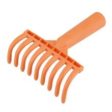 1 шт. девять зубов травяные грабли из пластика садовые инструменты горшечная Лопата Садовые принадлежности