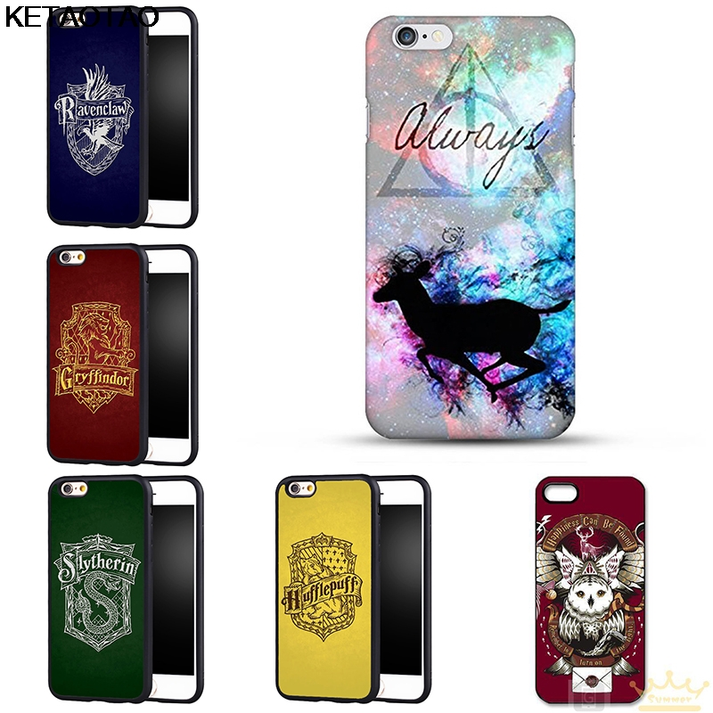KETAOTAO Gryffindor Hufflepuff Harry Potter Slytherin Phone Cases for Samsung S5 S6 S7 S8 S9 NOTE Case Soft TPU Rubber Silicone