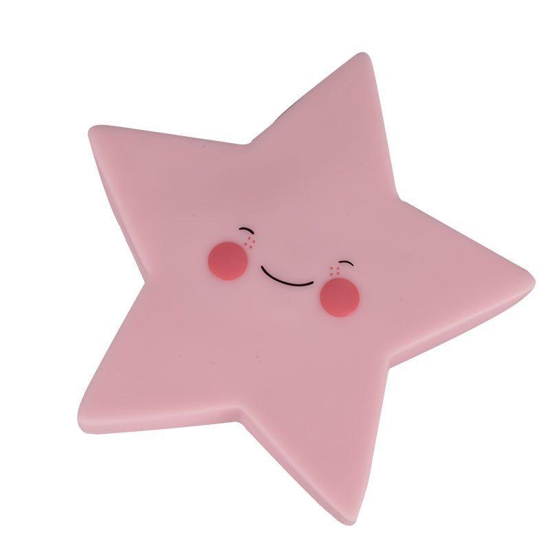 Creative Adurable Novelty Star Night Light Kids Bedsibe Led Lamp For Children Baby Birthday Christmas Toy