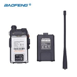 Image 5 - Baofeng Walkie Talkie UV 5RA de doble marca UHF 400 520MHz VHF 136 174 CB Radio 5W 128CH VOX linterna, transceptor FM portátil, 2 uds.