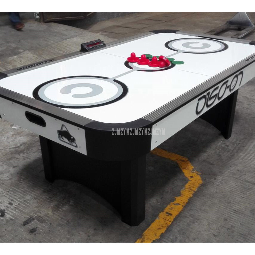 7 Feet Air Hockey Table Indoor Competition Game Table Games Entertainment With 4Pcs Pucks 4PCS Felt Pusher Mallet Grip WH7002