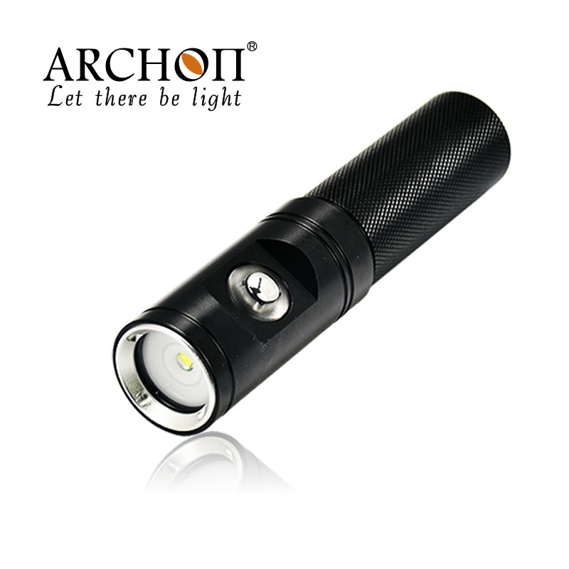 ФОТО Archon V10V Cree XM-L2 860 lumens Diving Photography Underwater Video LED Flashlight Torch With 18650 Battery and Charger