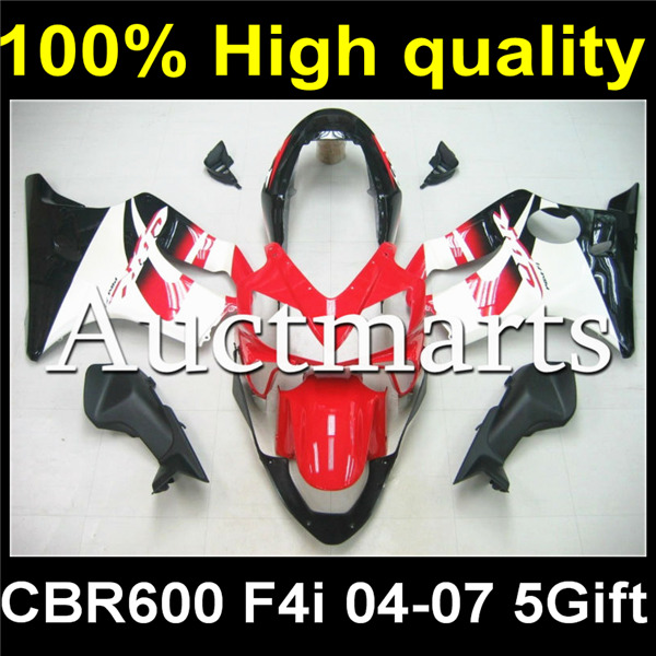 Full Body Plastic Fairing Kit Set For HONDA CBR600F4i CBR 600 CBR600 F4i 2004 2005 2006 2007 04 05 06 07 H04-00 сумка баул туристическая thule chasm xs 201200 27л серый
