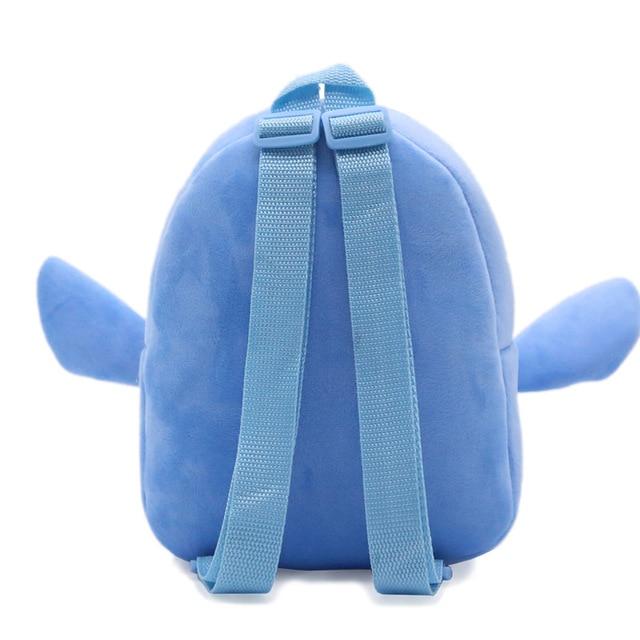 Cute Baby school bag Stitch cartoon plush backpack children schoolbag for Kindergarten boy girl student mini bags Kids & Baby Bags