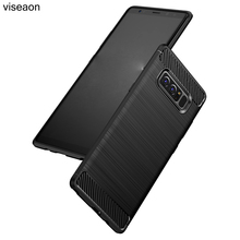 For Samsung Galaxy Note 8 Case Carbon Fiber Soft TPU Case For Galaxy Note 8 Anti-knock Back Cover For Galaxy Note 8 Coque Case