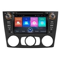 OTOJETA автомобильный dvd андроид 7,1 стерео головных устройств bluetooth Сенсорный экран мультимедийный плеер для BMW E90 AC MC 06 10 навигации