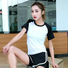 Aipbunny Hot sale Womens Summer Short Sleeve Tops Casual Patchwork Color Tee T Shirts large size XXXL Female mujer Lady Clothing