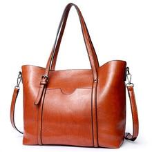 Vintage PU Leather Women Handbags Women Messenger Bags Totes Bucket Bag