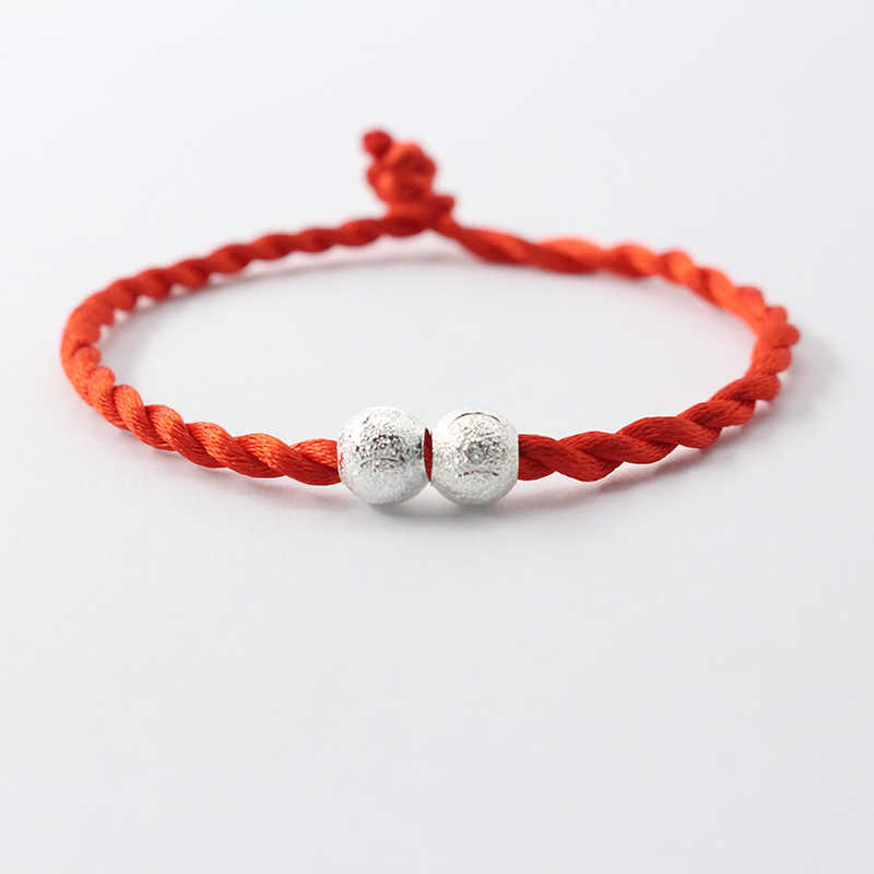 CHENFAN homme bracelet fil rouge bracelet mode chaîne Bracelet chanceux rouge fait main corde pour femmes bijoux