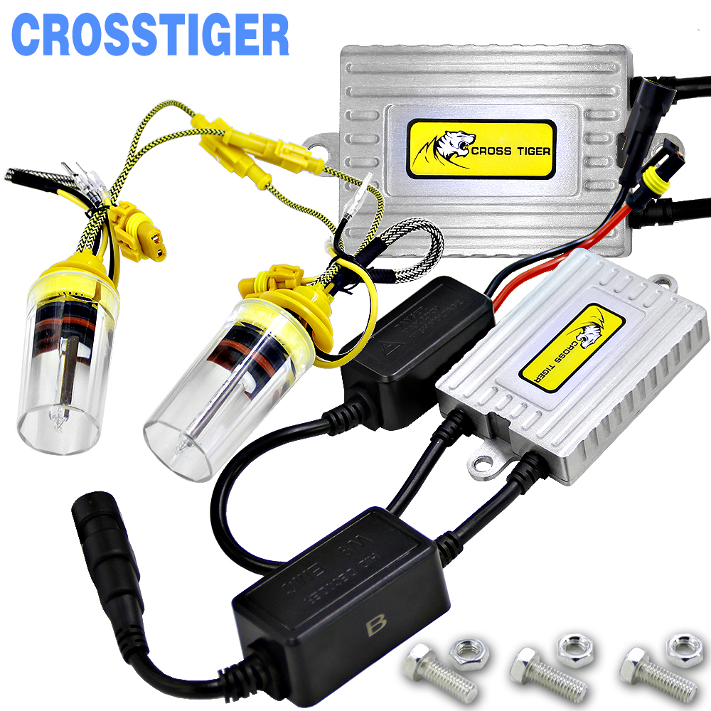 2017 New 9003 H4 Bi Xenon H7 HID Ballast Conversion kit Canbus Error Free H8 H9 H11 9005 9006 HB4 H1 xenon Lights Lamp 55W 6000K