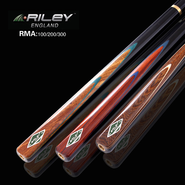 Import RILEY Snooker cue,Model RMA100/200/300,145cm, cue tip nearly 10mm , Ash wood shaft , 3/4 handmade billiard cue omin snooker cue union the top level 145cm length 10mm cue tip ash wood 3 4 handmade billiard stick free shipping
