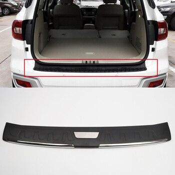 Para Toyota Fortuner 2016 2017 AN160 exterior de plástico puerta Protector de la placa de ajuste Accesorios Estilo de coche