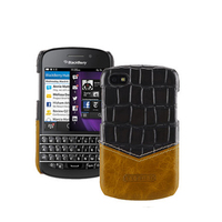 Premium Genuine Leather Phone Cases for Black Berry Q10 Case Protective Fitted Back Cover Bag for Blackberry Q10 3.1inch