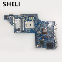 SHELI FOR HP 665284 001 Free Shipping Laptop motherboard DV6 DV6 6000 motherboard 100% tested well