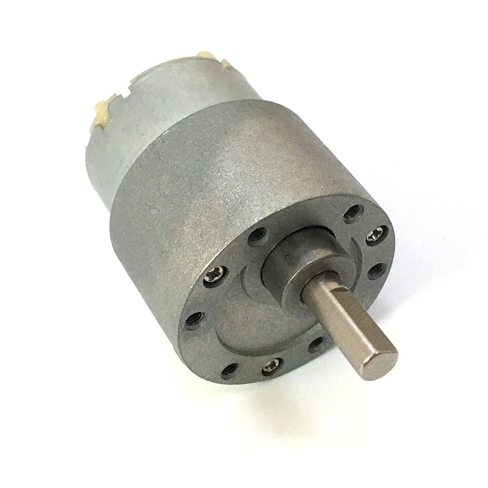 Quiet 150rpm 12v dc torque gear box electric motor for rc for Robot motors and parts
