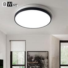 BWART Double layer Round Indoor Chandelier Home AC85-265V Modern Led Ceiling Chandelier Lamp Fixtures For Living Room Bedroom