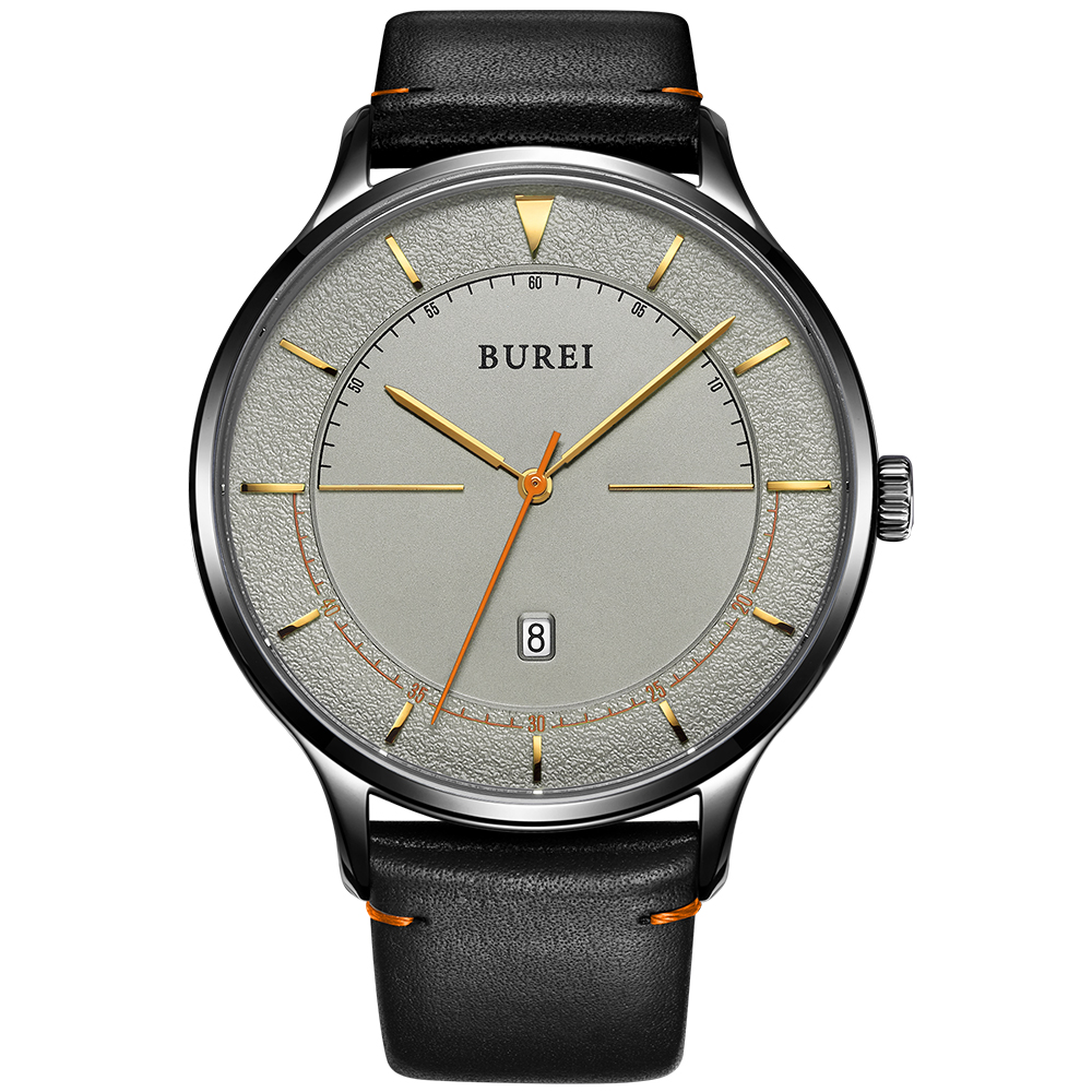 BUREI Unisex Stylish Minimalist Designer Watches