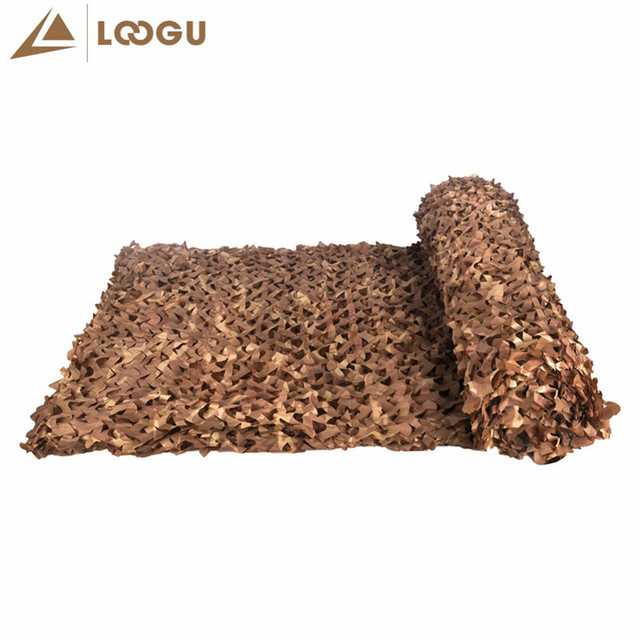LOOGU 2M*7M Military Camouflage Net Sun Shelter Camping Hiking Tourist Tent Militaire Filet Camouflage Net Sun Shelter Tent