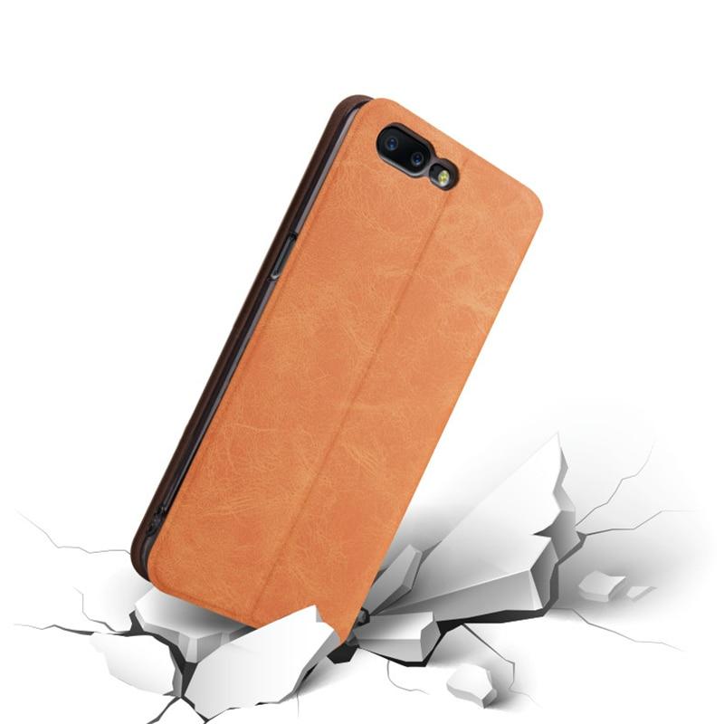 Γνήσια θήκη Mofi για Oneplus 5 Oneplus5 Cover Flip PU - Ανταλλακτικά και αξεσουάρ κινητών τηλεφώνων - Φωτογραφία 4