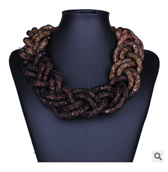 Fashion Statement Choker Necklace