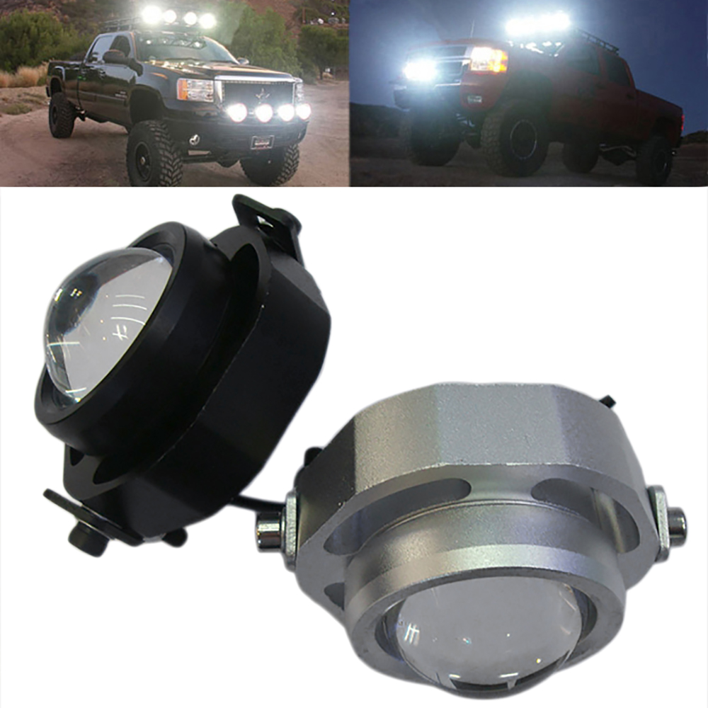 1PCS LED DRL Car Fog Lights Waterproof 1000LM DRL Eagle Eye Daytime Running Light Reverse Backup Parking Foglight 10W CCC AE  1 pair 2000lm 20w cree chips drl led eagle eye car fog daytime running reverse backup parking light lamp ip67 waterproof
