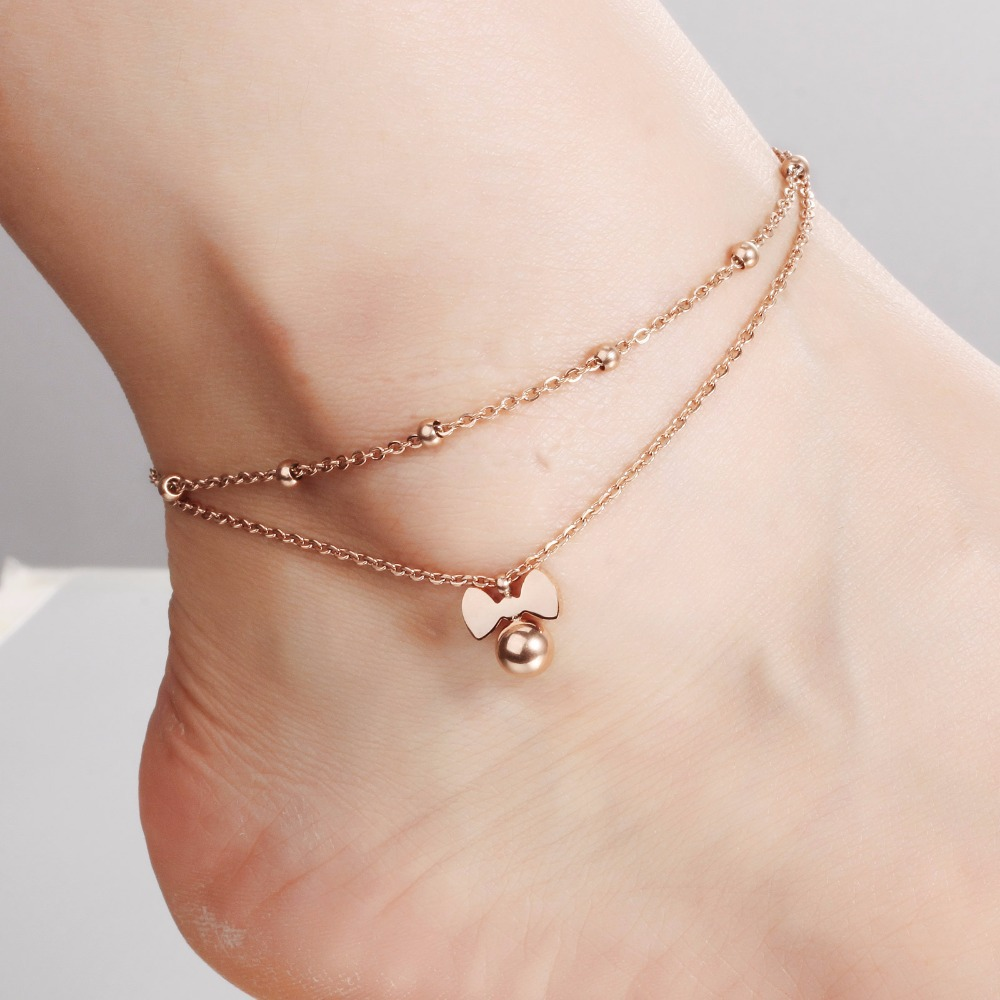 i lucky anklet sale amierq htm rose pm star end gold anklets