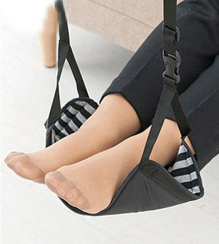 Foot Rest , Portable Travel Footrest Flight Carry-on Foot Rest Office Bus Airplane Feet Rest Feet Hammock Travel Accessories travel dedicated lazy people pedal foot rest for airplane high speed railway