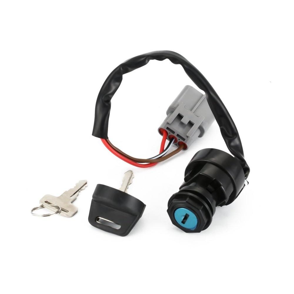 Ignition Switch Key For Yamaha GRIZZLY 700 YFM700 4X4 FI 2009-2017
