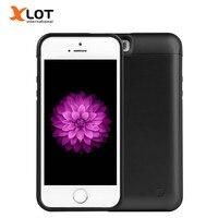 5 5S recargable Power case 4200 mAh batería externa cargador de reserva caso paquete Baterías portátiles para Apple iPhone 5 5S 5C se