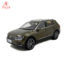 1/18 1:18 Scale VW Volkswagen New Tiguan L 2017 Brown Static Simulation Diecast Alloy Model Car