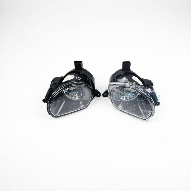 NEW 8P0 941 699 A & 8P0 941 700 A Front Bumper Halogen Foglight Fog Lamp Assembly For AUDI A3 04-08 Q7 07-09 Bulb Type: H7 2015 new driver side lh fog light foglight lamp assembly bulb for audi a4 b9 8k0941699b