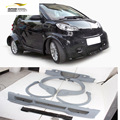B Car Styling PU Unpainted Car Body Kits For Benz Smart Fortwo 2012-2013