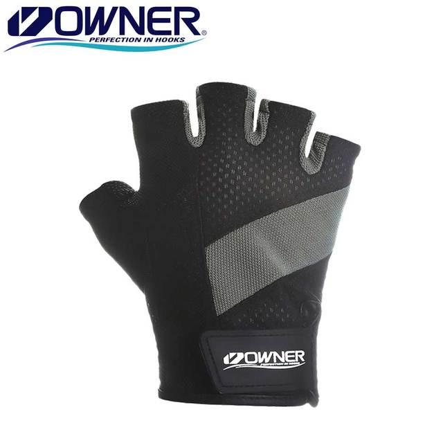 Owner Fishing Gloves Fingerless Outdoor Anti-Slip Sport