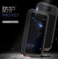 Huawei P10 Plus Case LOVE MEI Shock DirtProof Water Resistant Metal Armor Aluminum Silicon Cover Case