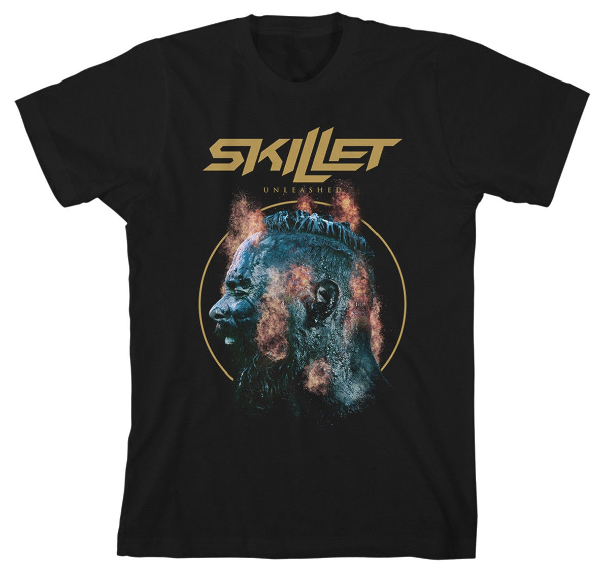 Skillet UNLEASHED EXPLOSION T-SHIRT - NUOVO E ORIGINALE ...
