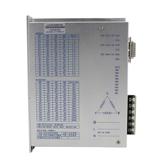 все цены на Three phase 110/130 stepper motor driver LC3722HTC AC 220V maximum current 7A factory direct sales онлайн